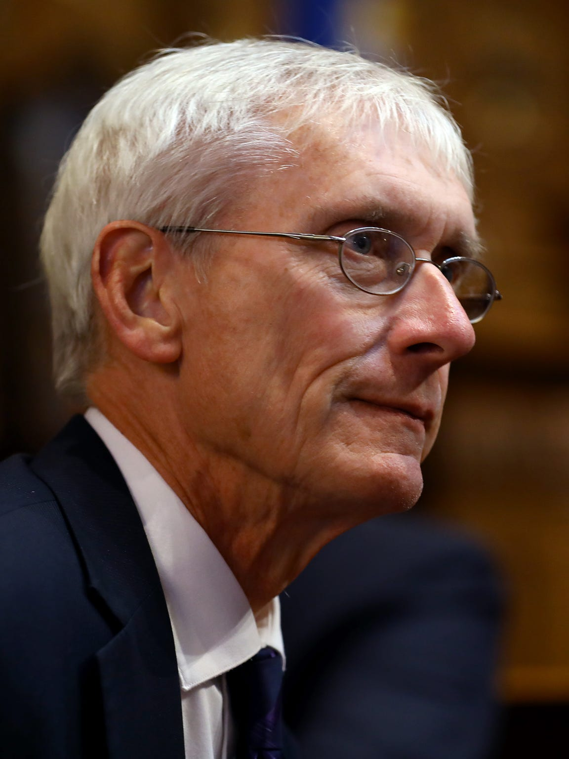 Democratic gubernatorial candidate Tony Evers has called
