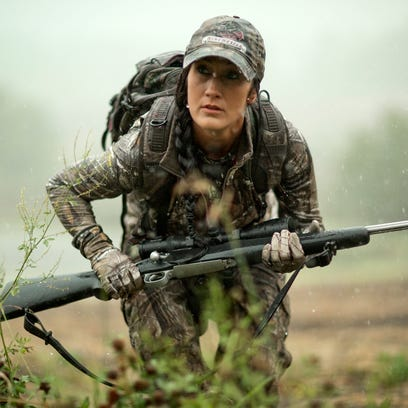 Paynesville woman shares hunting passion with TV show
