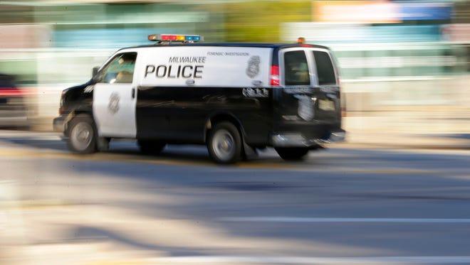 A Milwaukee police van.