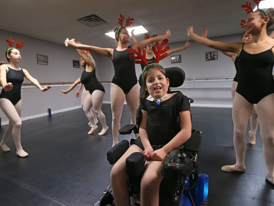 Saturday's show will feature all 30 of the studio's students, who range from toddlers to teens.