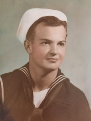 John Reed of Indio served in the U.S. Navy during World War II.
