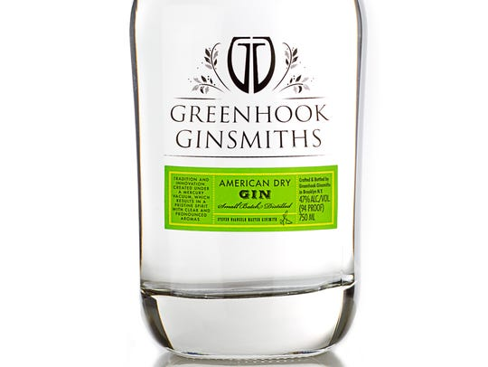 American Dry Gin is made by Greenhook Ginsmiths.