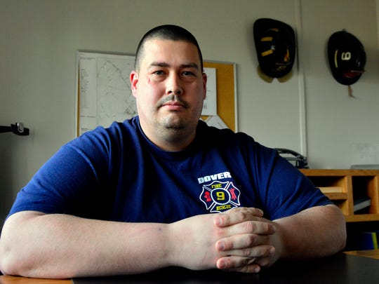 Dover TownshipFire Chief Brian Widmayer is seen in a file photo from 2016.