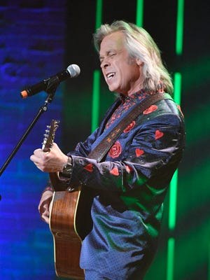 Jim Lauderdale performs at the Americana Music Honors & Awards show Wednesday, Sept. 13, 2017, at the Ryman Auditorium in Nashville.