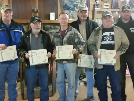 Reedsville Sportsmen's Club honored the following