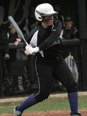 Clear Fork's Hallie Gottfried readies herself at bat while playing against Galion on Wednesday.