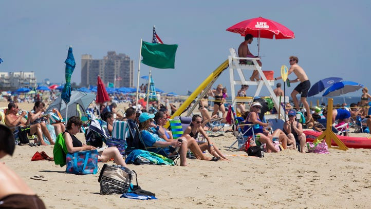 A Day at the Beach: Long Branch
