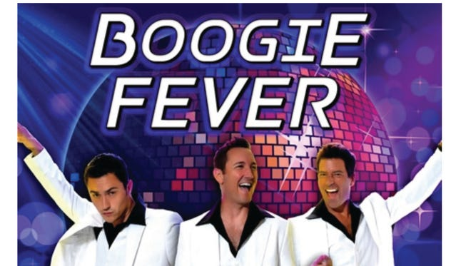 """March 17 """"Boogie Fever: A Musical Tribute to Saturday Night Fever""""to help support Southeast Florida Honor Flight. Show starts at 7 p.m. at the Lyric Theatre, Stuart."""