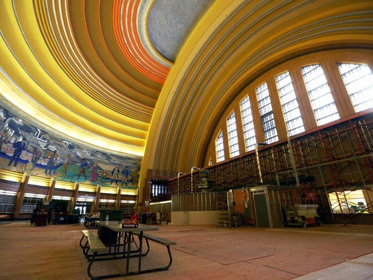 History of Union Terminal. Cincinnati Union Terminal was a significant development in the history of Cincinnati transportation. One of the last great train stations built, Union Terminal has become one of the iconic symbols of the city and one of the most widely regarded examples of the Art Deco style.