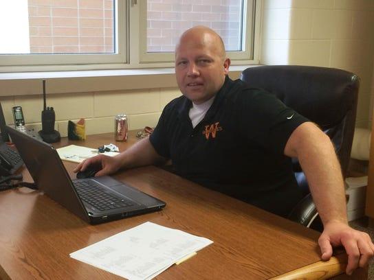 Eric Johnson, principal at Wilson Junior High, is leaving