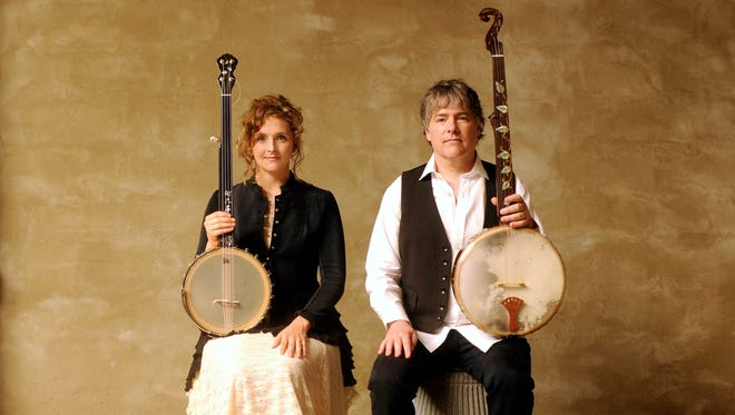 Abigail Washburn and Bela Fleck perform Friday at the Flynn Center.
