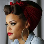 Andra Day is nominated for two Grammys — for best R&B album and best R&B performance.