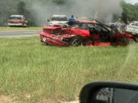 The Florida Highway Patrol is working a crash on Highway 90 in Midway. All eastbound lanes are closed