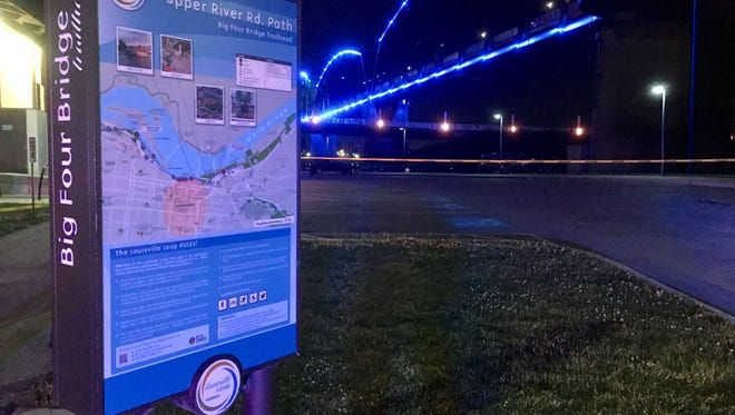 The scene of a shooting that occurred Monday night at Waterfront Park. May 29, 2017