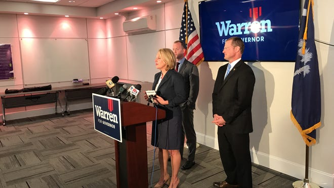 Catherine Templeton has endorsed John Warren as he approaches the Republican gubernatorial runoff again Henry McMaster.