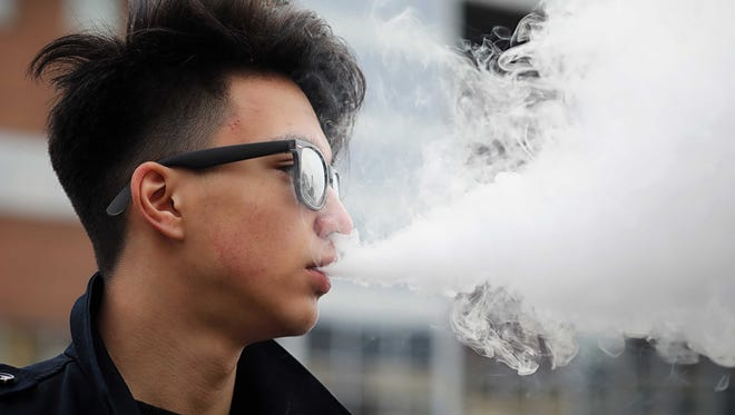 It's easier than ever for kids to vape right under their parents' and teachers' noses.