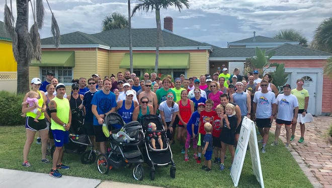 Last week, the Summer Brewery & Fun Run  Tour stopped at Cocoa Beach Brewing Company and included a run along the beach.
