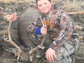 Kieth Wilson, 10, got this 5x4 mule deer near his uncle's