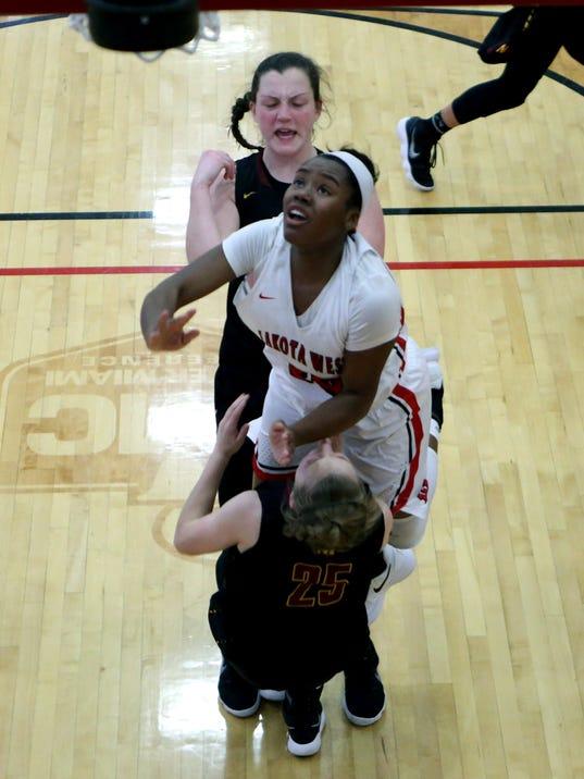 McCauley at Lakota West Girls Basketball