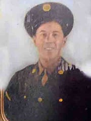 Wirt Fontenot was awarded a Purple Heart for his service in World War II.