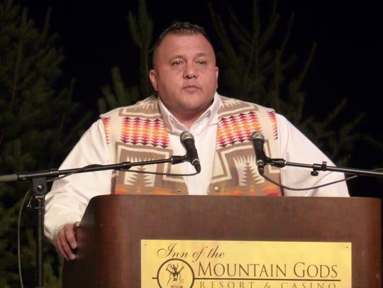 Mescalero Vice President Gabe Aguilar said the way