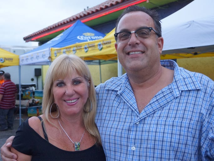 Susan Johnson and Jeff Pryor at Cantina Dos Amigos in Indialantic for their Cinco de Mayo celebration May 3.