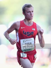 Anthony Peters of USA competes in the men's 1000-meter race walk during day four of the IAAF World Junior Championships at Hayward Field on July 25, 2014 in Eugene, Oregon.