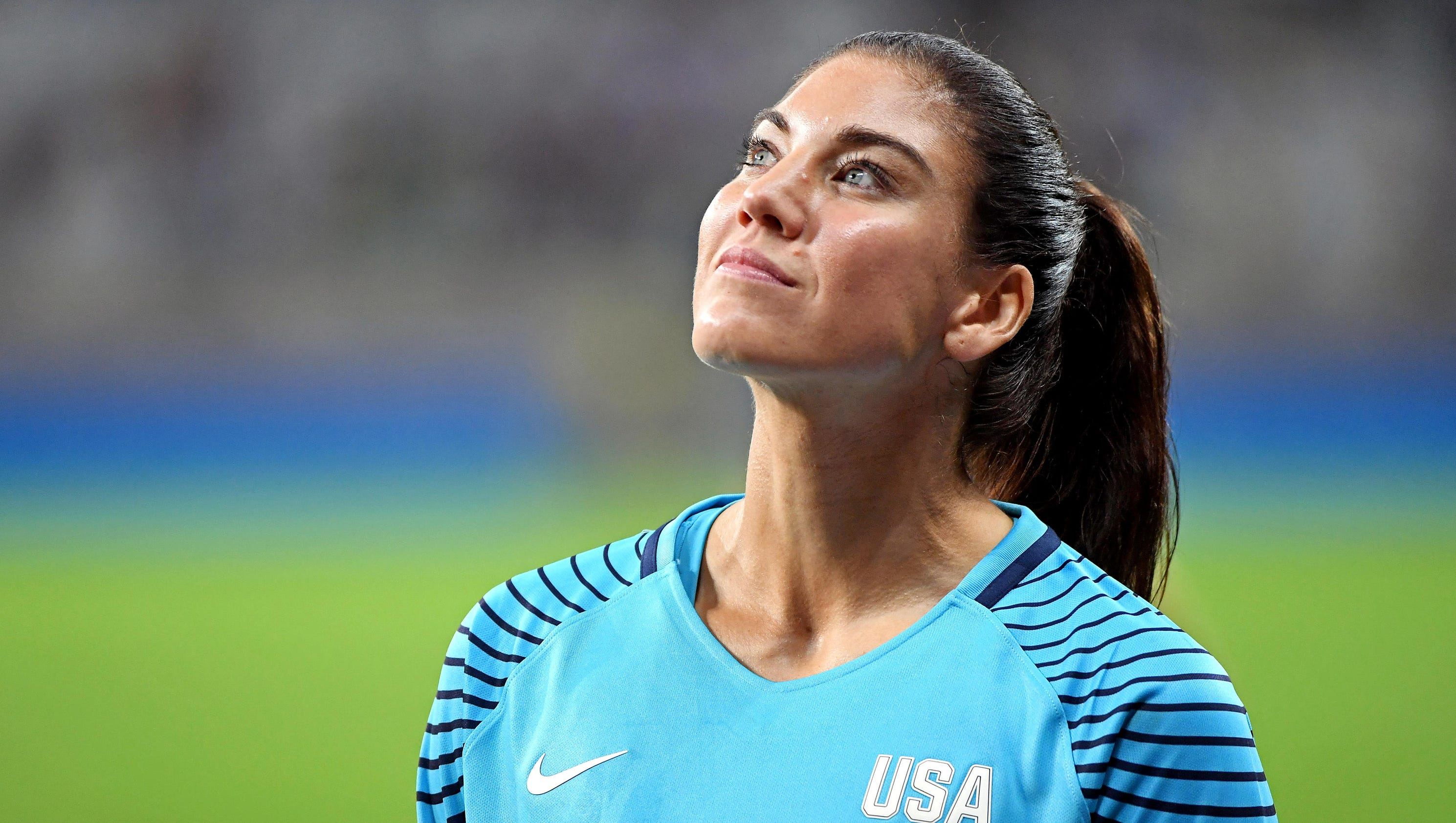 expect hope solo to continue to be a target of taunts