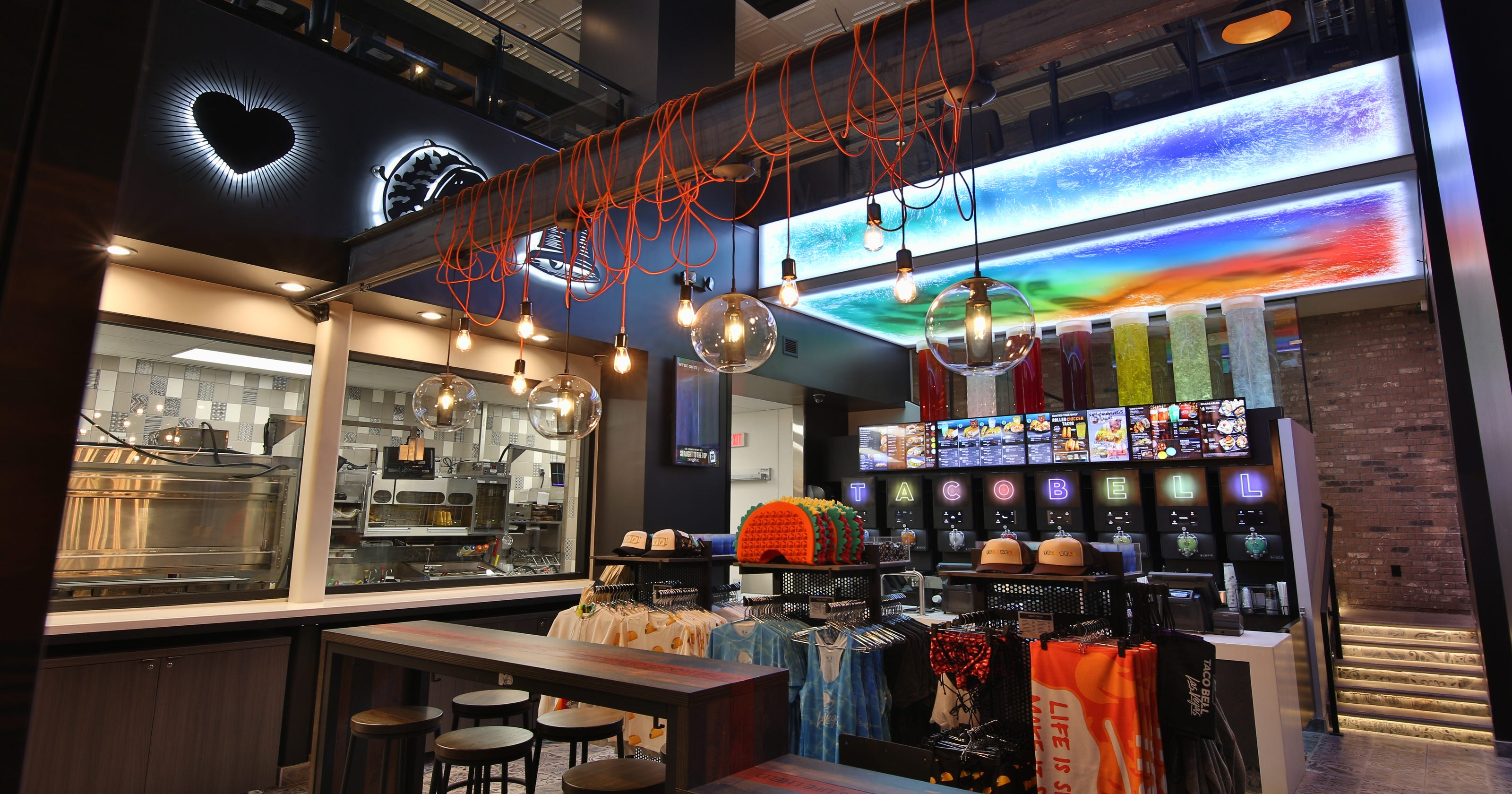 Swanky Taco Bell Cantina Opens Nov 14 On The Las Vegas Strip