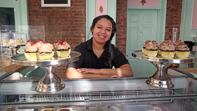 Eva Rivera, owner of Bella Sophia Sugar Crafts is photographed at the shop in Haverstraw on Nov. 17, 2016.
