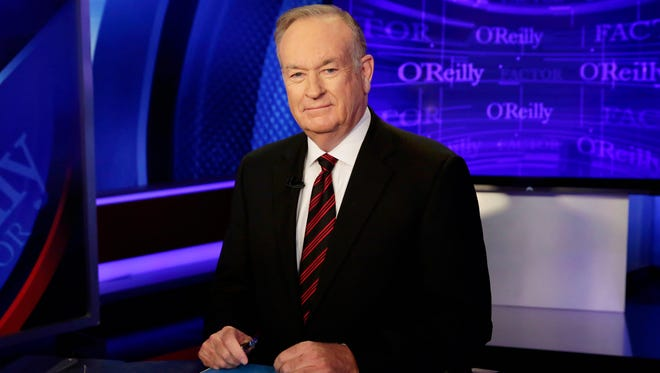 "Bill O'Reilly, Fox News Channel host of ""The O'Reilly Factor, is shownin a 2015 file  photo."