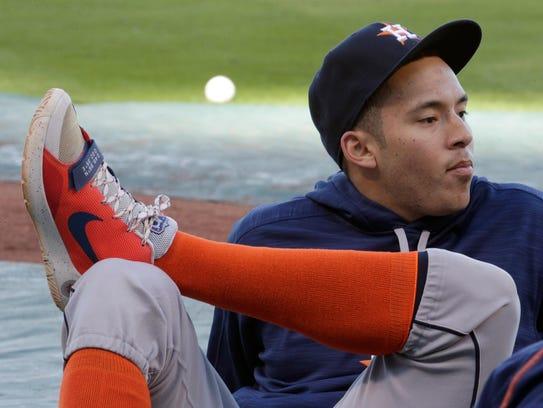 Carlos Correa de los Astros de Houston fue nombrado