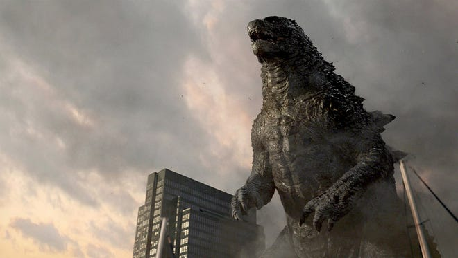 """The monster returns in the new movie """"Godzilla."""""""