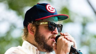 """Bon Iver, led by Justin Vernon, celebrates the 10th anniversary of the project's celebrated debut album """"For Emma, Forever Ago"""" at a special show at the BMO Harris Bradley Center Feb. 16."""