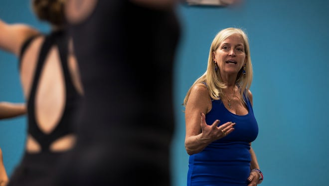 Robin Dawn conducts a junior jazz class at her academy in Cape Coral. The Robin Dawn Academy will host its 11th Annual Dance Block Workshop and Competition from Nov. 10-12.