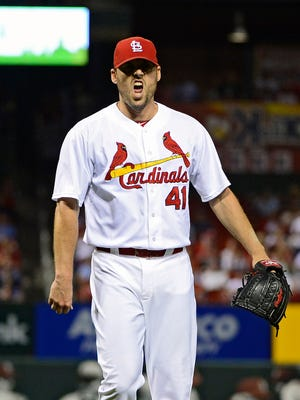 John Lackey, Game 1 starter, is a veteran of the postseason.