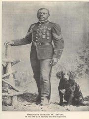 Captain Horace Bivins left retirement to serve his