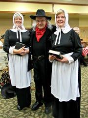 Residents Gini Brown, John Gardner, and Judy Potter