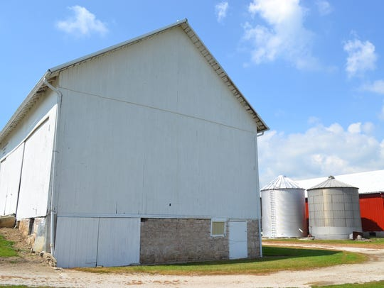 This barn, which has been in the Goetz family since