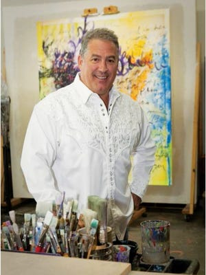 """""""My life is reflected to the world every time I sign a painting,"""" Tim Yanke says about his artwork."""