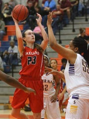 Oakland senior Maggie Knowles is an Austin Peay signee.
