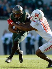 Michigan State running back Madre London hopes to earn playing time in a crowded Spartan backfield this season.