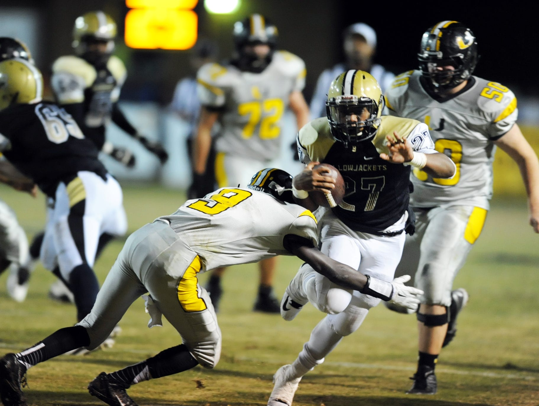 Few teams have been able to slow down Bassfield. East Webster aims to top the defending Class 2A champion this Friday.