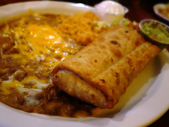 Trailing the Pack: Machaca Chimichanga at Rio Mirage