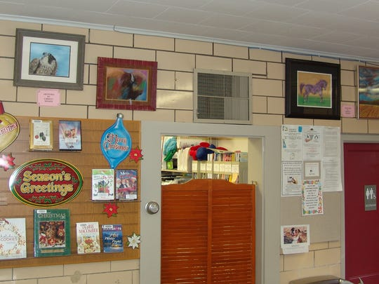 Christy Mosier's paintings will be on display at the