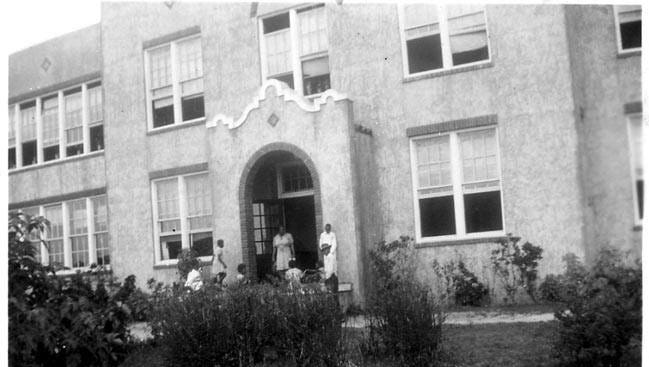 This photo of Dunbar High School is from the Historic Documents Library in the Records Office of the Lee County Clerk of Courts office.