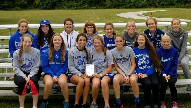 The Croswell-Lexington girls cross country team won the Port Huron High School cross country invitational Thursday.