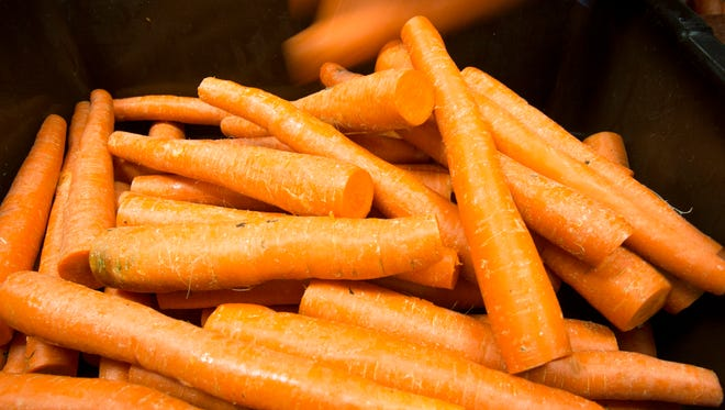 Picking the best carrots can be a challenge.