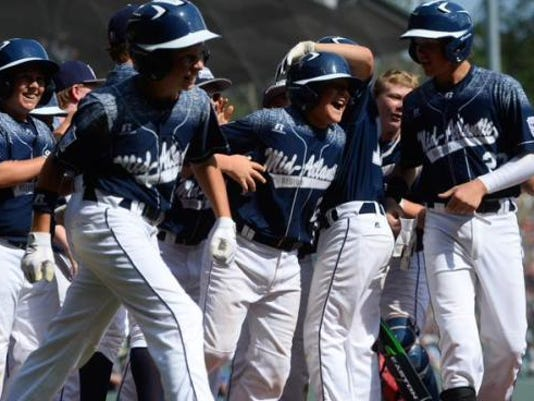 Red Land Little League scored 10 runs in the first inning Saturday, but Japan has since answered.