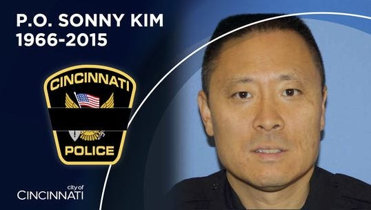Cincinnati Police Officer Sonny Kim was killed in the line of duty on Friday.